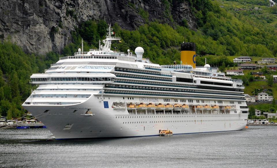 Cruise Boat, Cruise Vacation, Norway, Fjord, Water