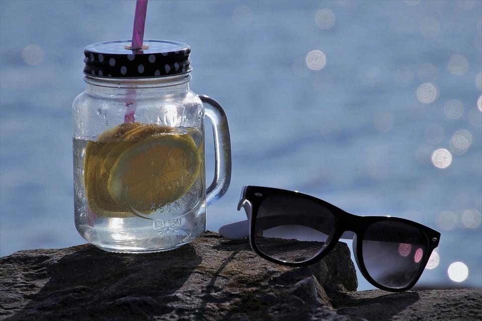 Mug, Glass, Drink, Fresh, Water, Glasses, Liquid