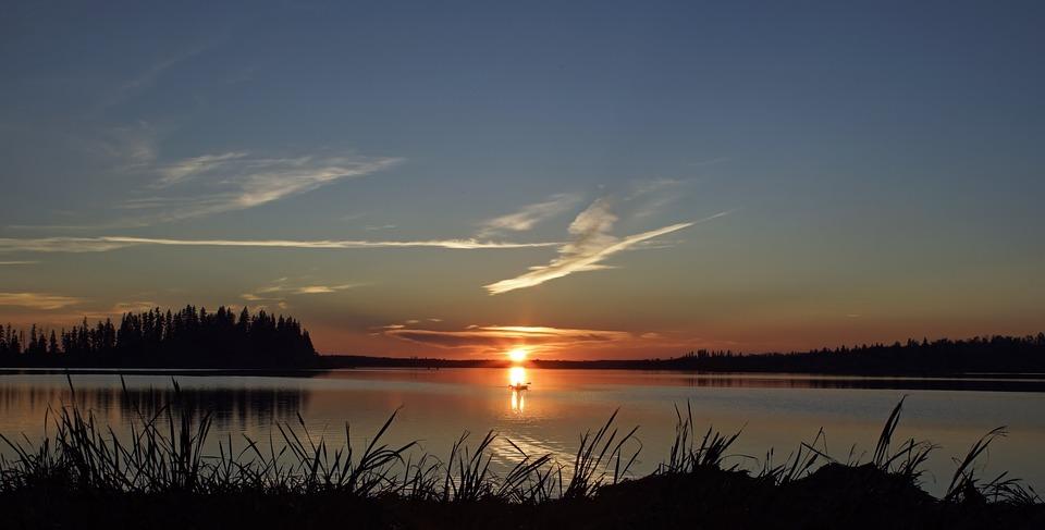 Sunset, Dawn, Water, Nature, Sun, Dusk, Evening, Summer