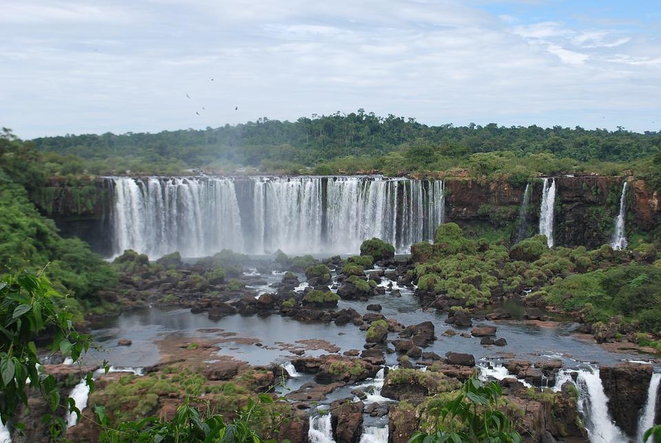 Iguazu, Falls, Water, Nature, Current, Cascade Falls