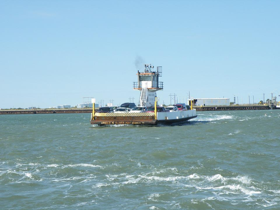 Ferry, Barge, Car Ferry, Water Ferry, Transportation