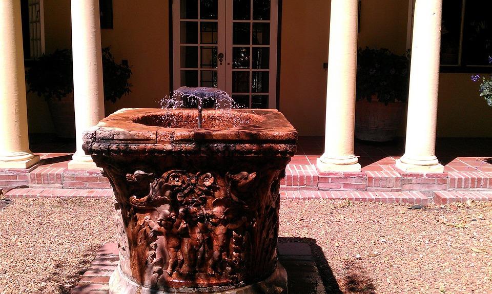 Water Fountain, Water Dispenser, Old, Winelands