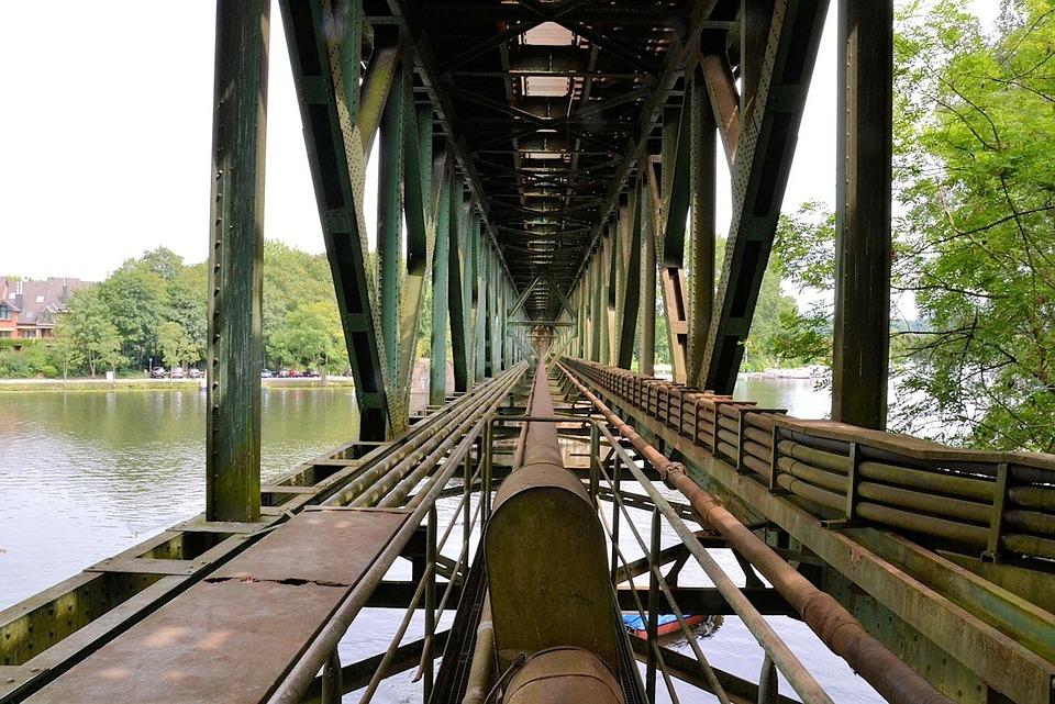 Eisenach, Germany, Bridge, Architecture, River, Water