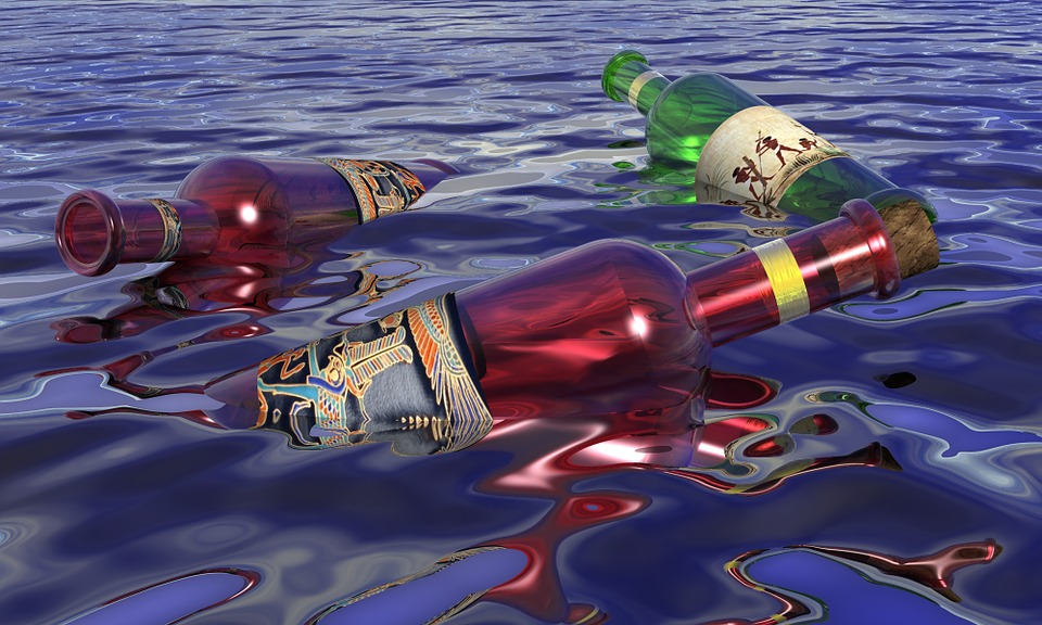 Bottles, Empty, Glass, Container, Water