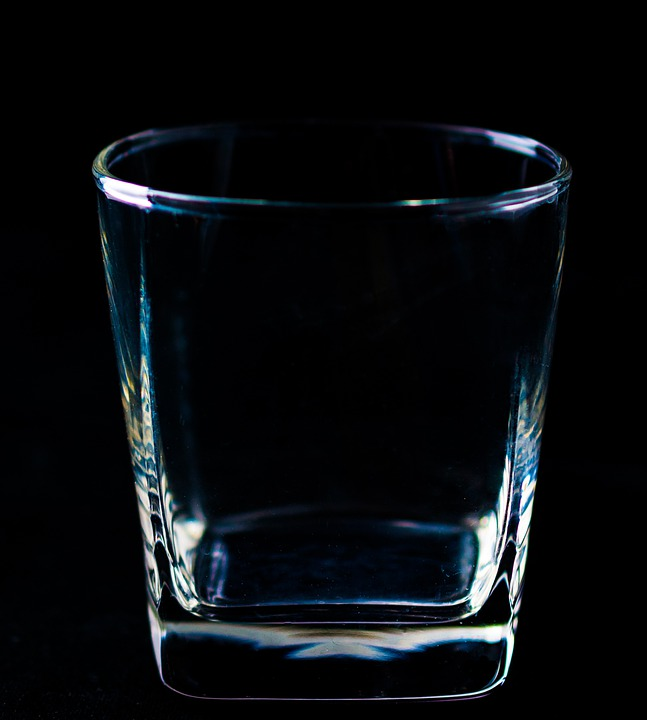 Glass, Water Glass, Drinking Cup