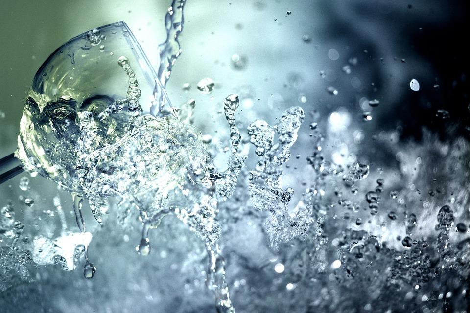 Water, Water Glass, Drink, Refreshment, Wine Glass