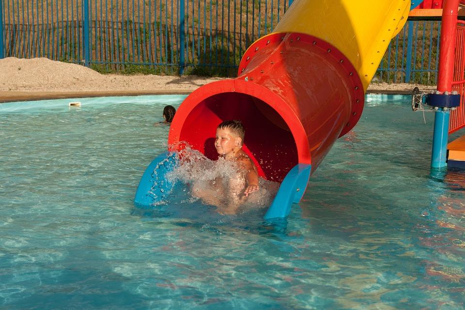Aquapark, Sea, Baby, Fun, Pool, Water, Gorka