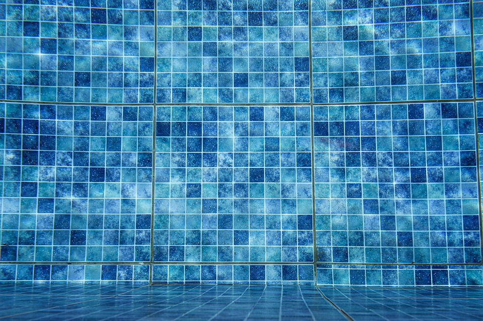 Swimming Pool, Swimming, Tiles, Blue, Water, Holiday
