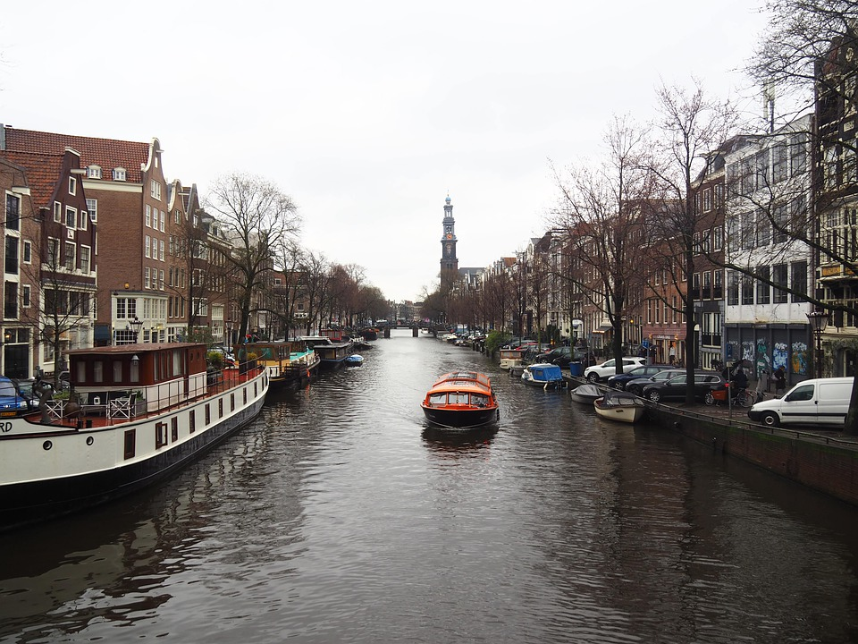 Canal, Amsterdam, Netherlands, Holland, City, Water