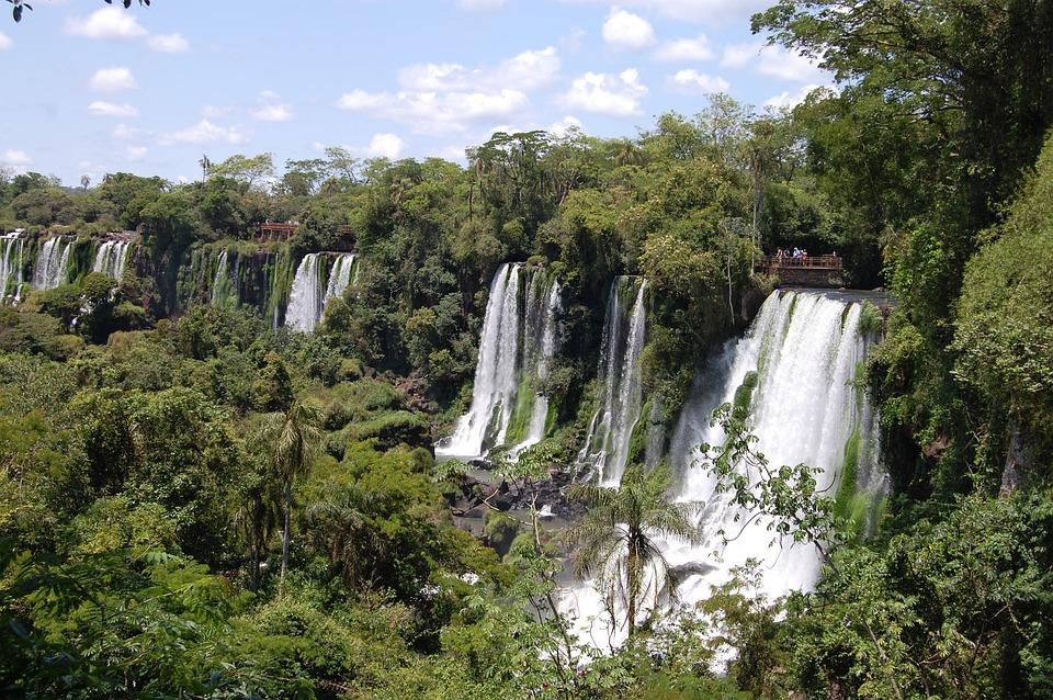 Iguazu Falls, South America, Iguazu, Water, Waterfall