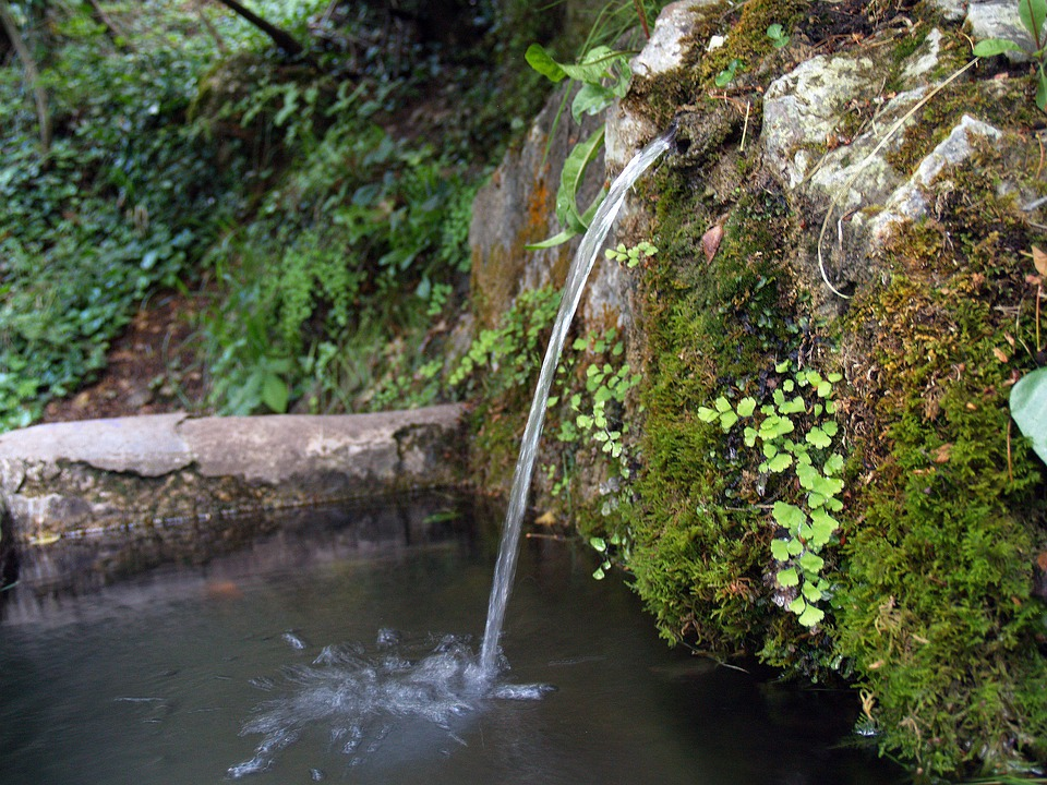 Source, Water, Jet, Cano, Pylon, Freshness, Nature