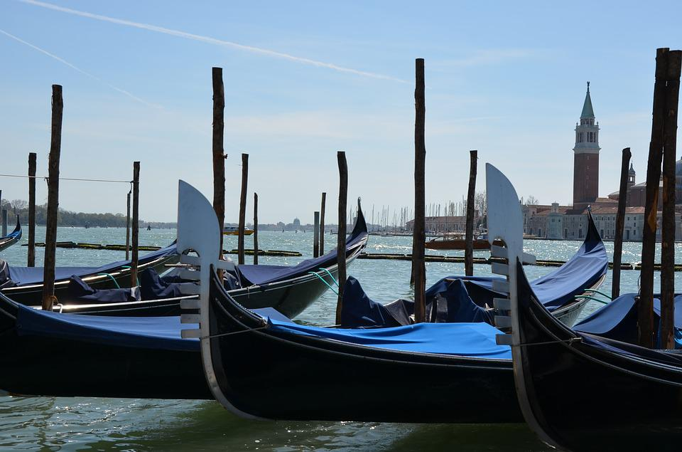 Gondola, Venetian, Water, Boat, Lagoon, Canal, Travel