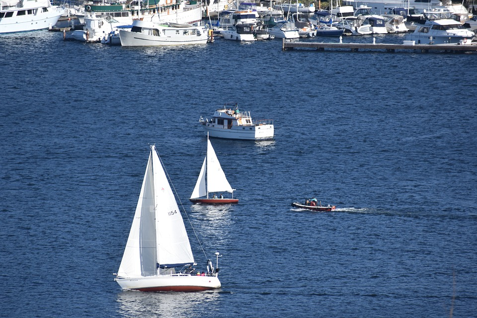 Lake, Boat, Plane, Blue, Water, Adventure, Ship