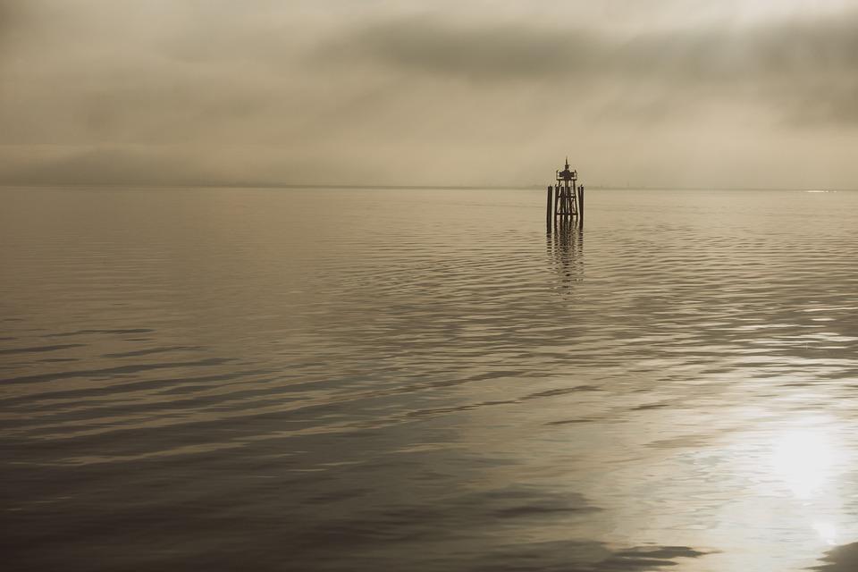 Lake, Evening, Water, Twilight, Abendstimmung, Mood