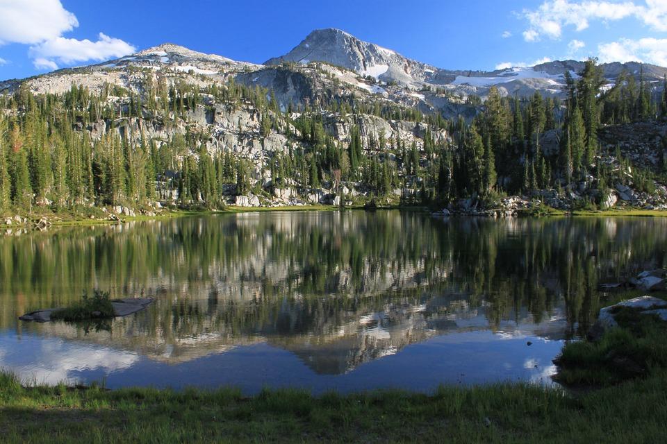 Mountain, Lake, Nature, Landscape, Water, Sky, Tourism