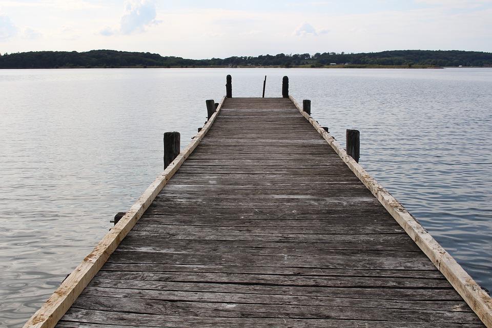 Sea Bridge, Pier, Web, Water, Lake, Boardwalk, Jetty