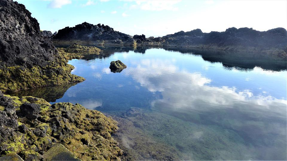 Azores, Landscape, Nature, Water, Tranquility, Island