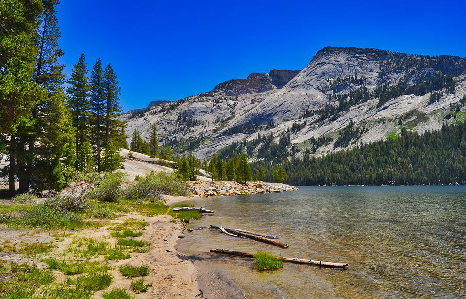 Lake, Landscape, Lonely, Trees, Mountains, Water, Sky