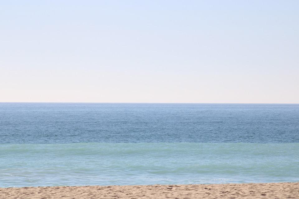 Layers, Water, Ocean, Nature, Landscape, Sky, Beach