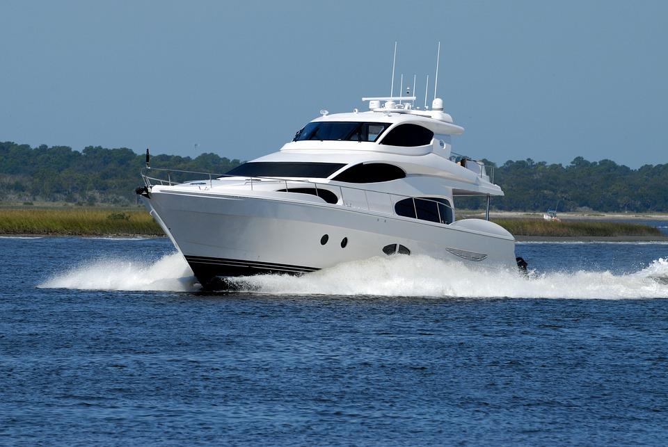 Luxury Yacht, Yacht, Cruising, Boat, Water, Sea, Travel