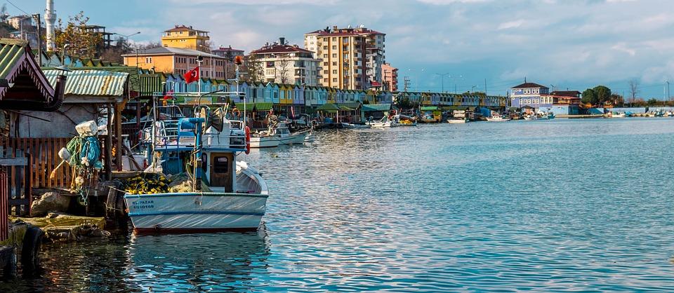 The Fishermen, Port, Are Tekle, Blue, Marine, Water
