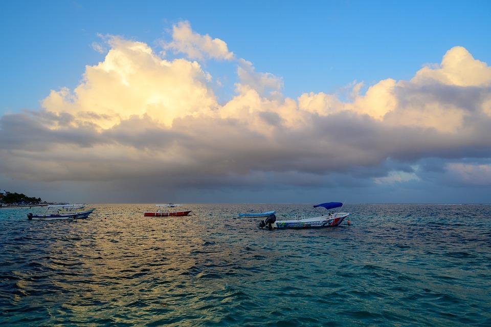 Mexico, Cozumel, Caribbean, Sea, Water, Travel, Sky