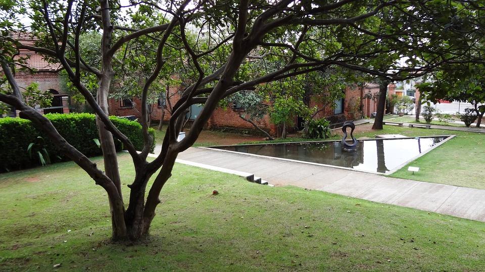 Garden, Water Mirror, Cinematheque, São Paulo
