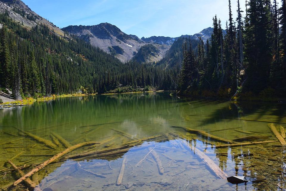 Lake, Mountains, Nature, Landscape, Water, Sky, Alpine