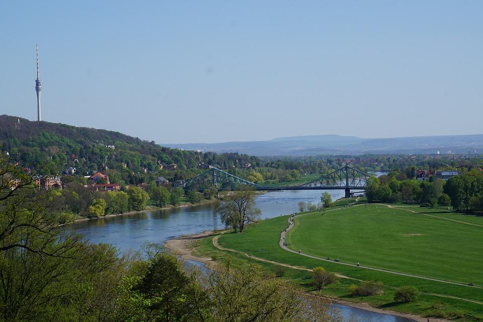 Dresden, Blue Wonder, Water, Blue, Miracle, Nature