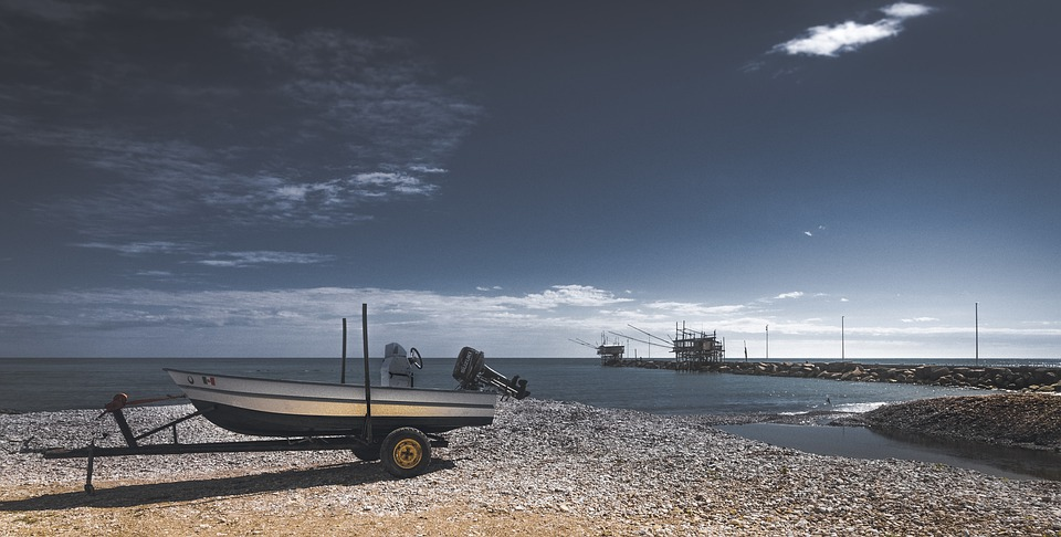 Boat, Sea, Beach, Ship, Ocean, Sky, Water, Nature