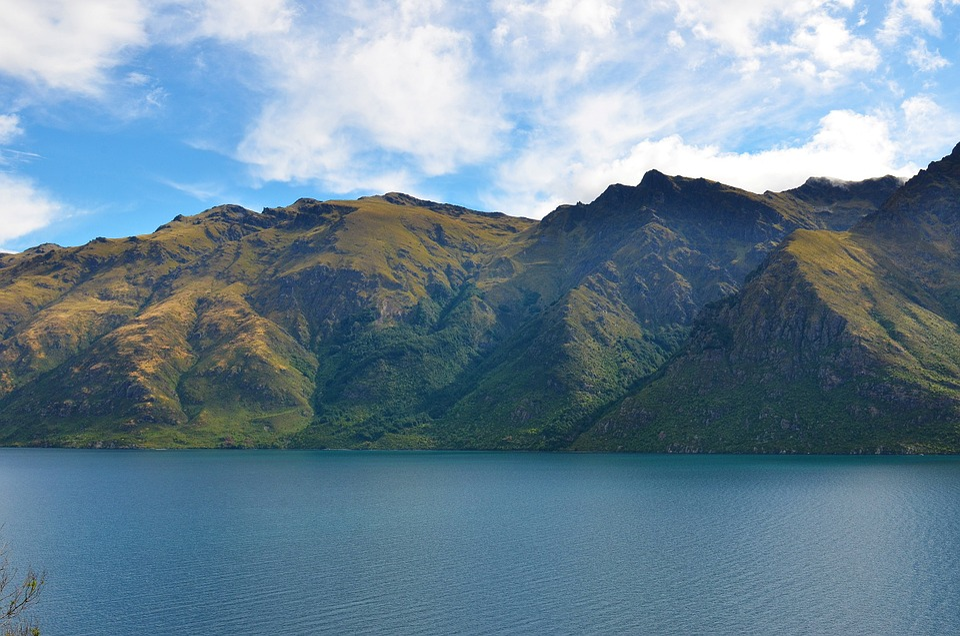 Lake, The Scenery, Water, Mountain, Nature