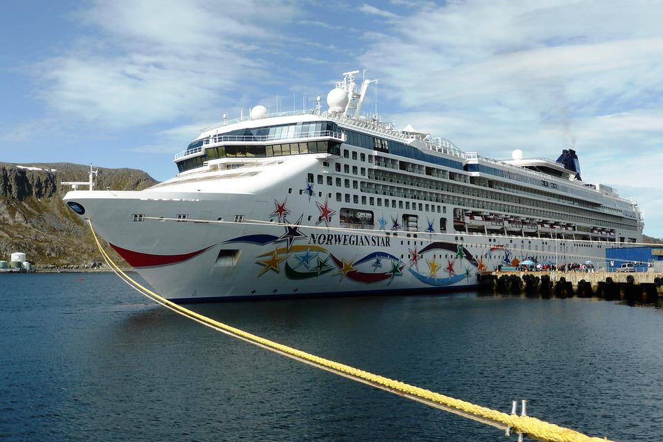 Cuisevakantie, Norway, Fjords, Water, Cruise Ship