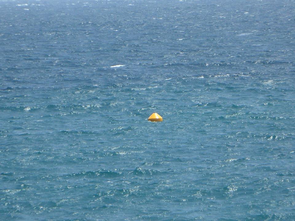 Boje, Sea, Water, Ocean, Endless, Far, Blue, Wide, Lost