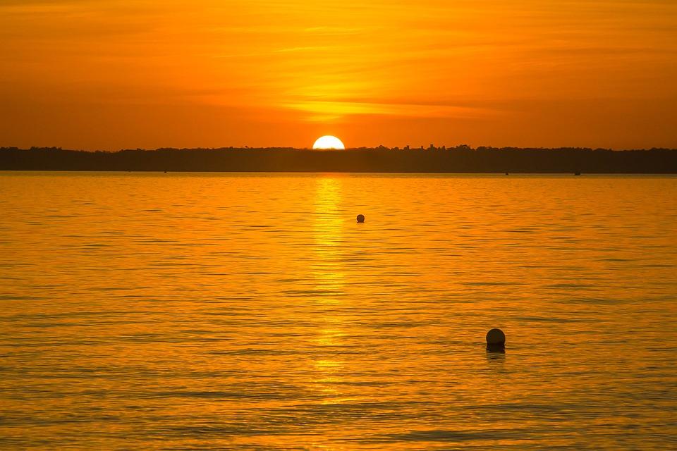 Sun, Ocean, Water