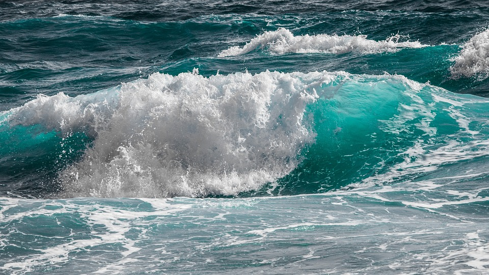 Surf, Water, Sea, Nature, Ocean, Blue, Wave, Splash