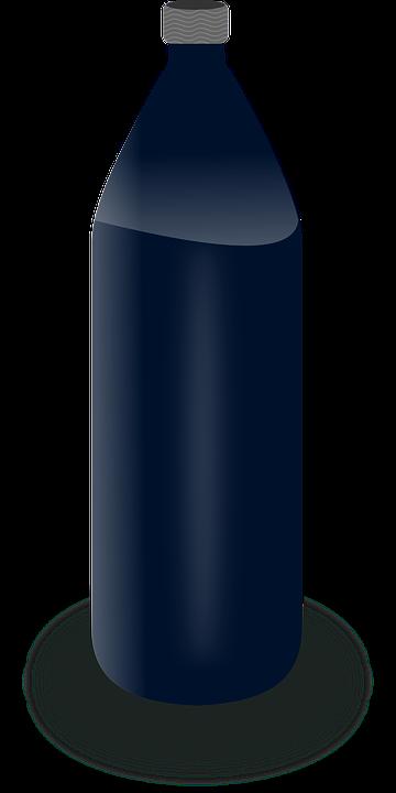 Bottle, Plastic, Opaque, Water