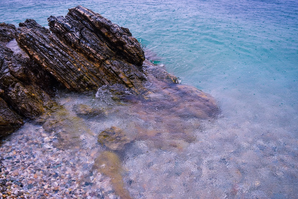 Sea, Rock, Peace, Nature, Ocean, Stone, Water, Holiday