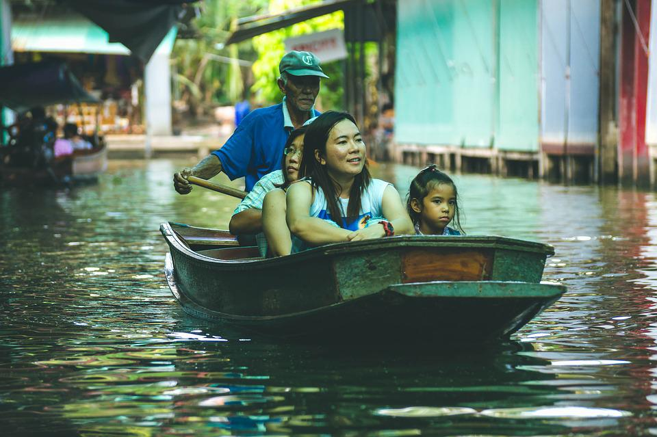 Travel, Boat, Moments, People, Tourism, Taxi, Water