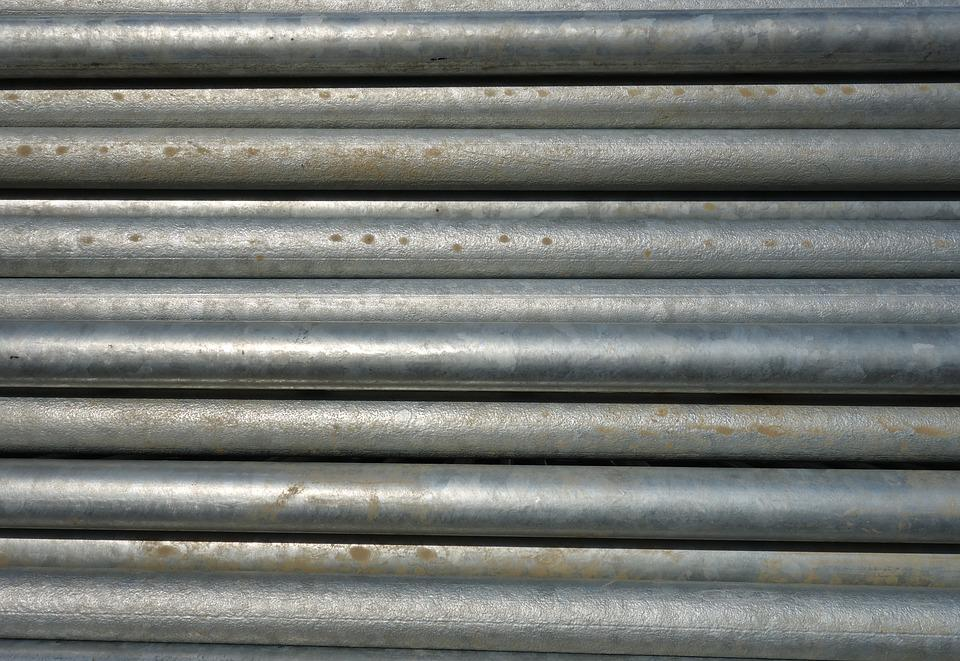 Pipes, Metal, Water Pipes, Construction Material