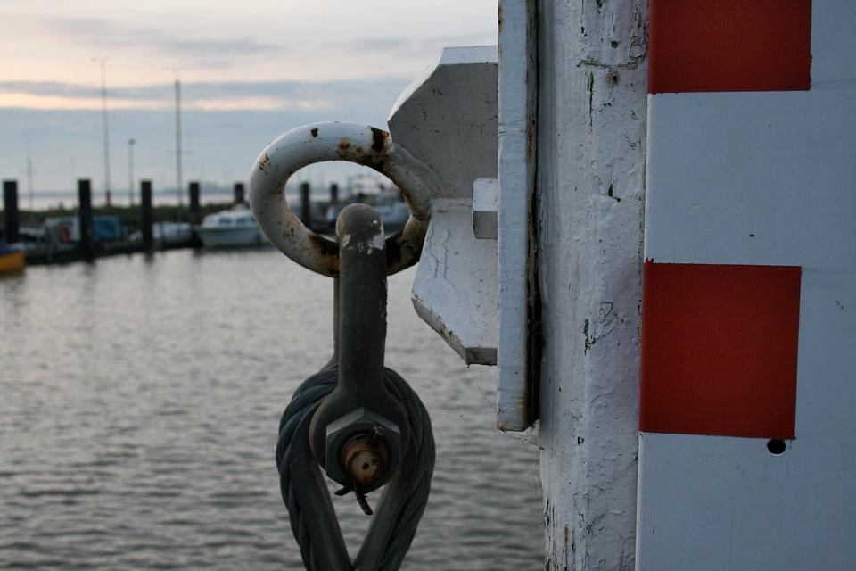 Port, Meerpaal, Water, River