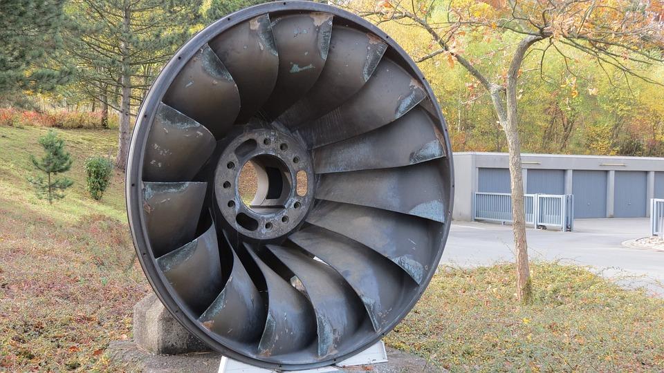 Turbine Wheel, Water Turbine, Drive, Water Power, Blade
