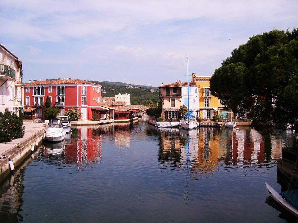 Port Grimaud, Port, Provencal Venice, Channel, Water