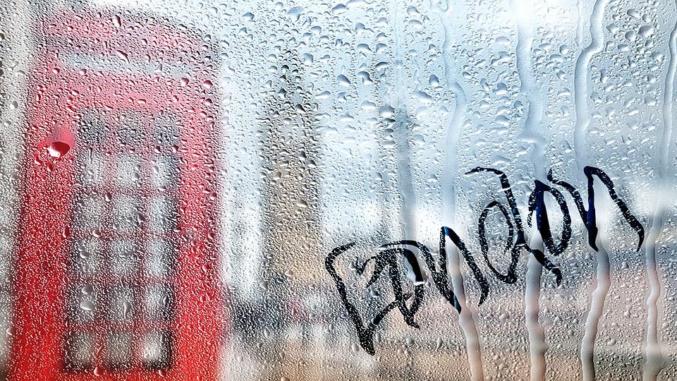London, Rain, Wet, Drip, Water, Raindrop, Drops Of Rain