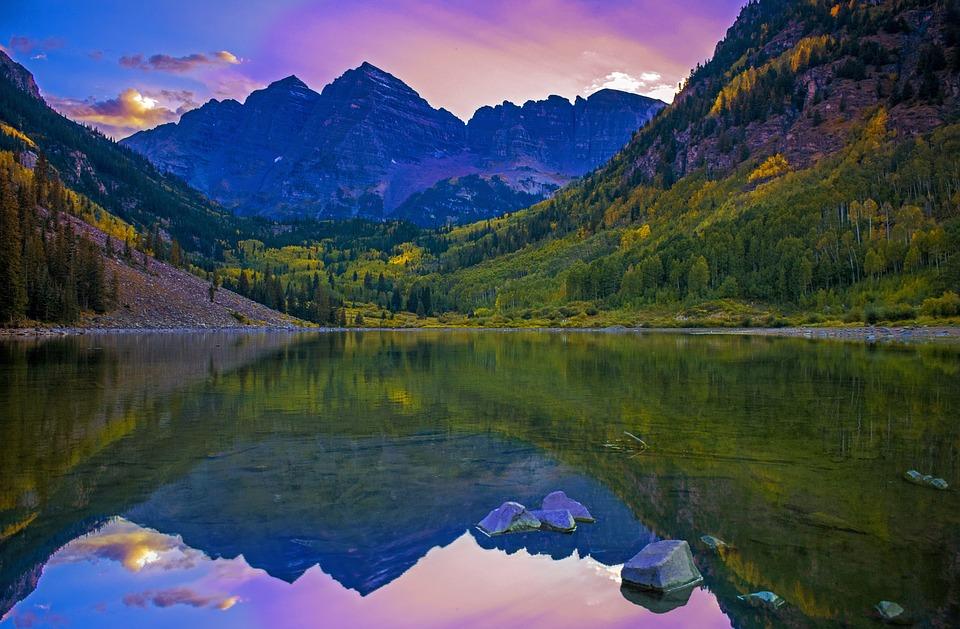 Mountain, Lake, Water, Reflection, Landscape, Nature