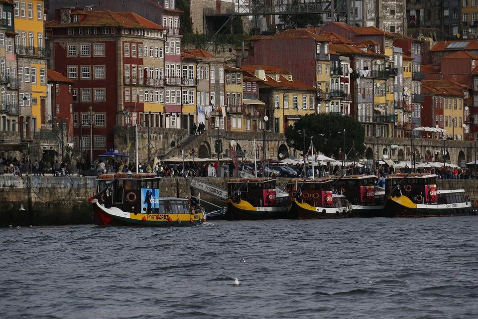 Porto, River Douro, City, Rio, Tourist, Water, Crossing