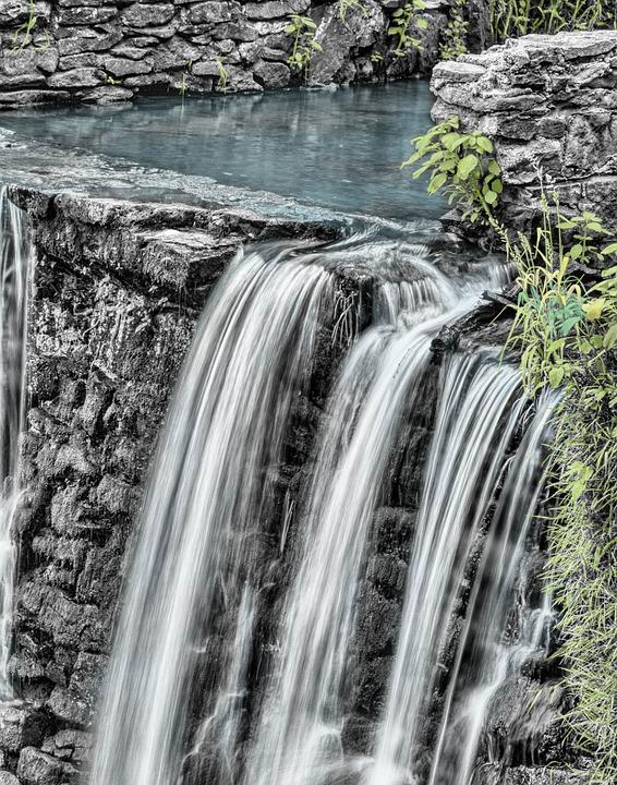 Waterfalls, River, Nature, Cascade, Water, Water Flow