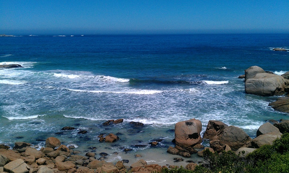 Llandudno, South Africa Sea, Rock, Nature, Water