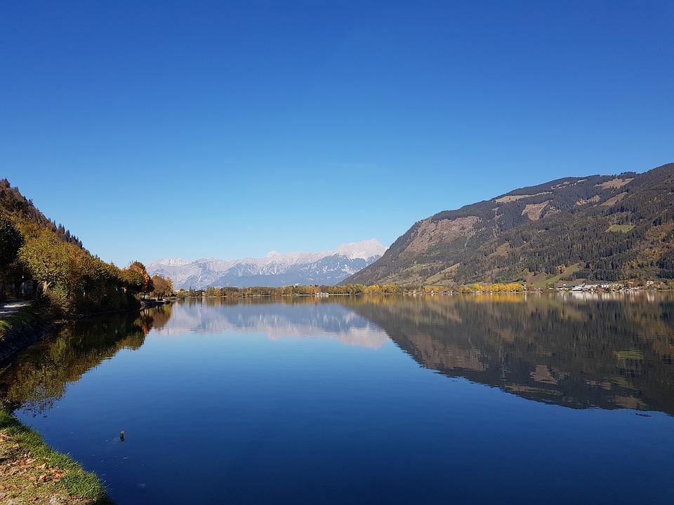 Salzburg, Landscape, Austria, Water, Sky, Nature