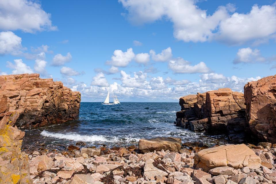 Coast, Sea, Lake, Water, Ocean, Boat, Sailing Boat
