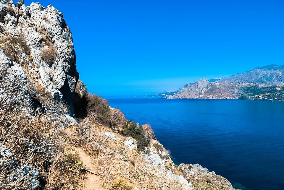 Crete, Plakias, Sea, Color, Water, Nature, Landscape